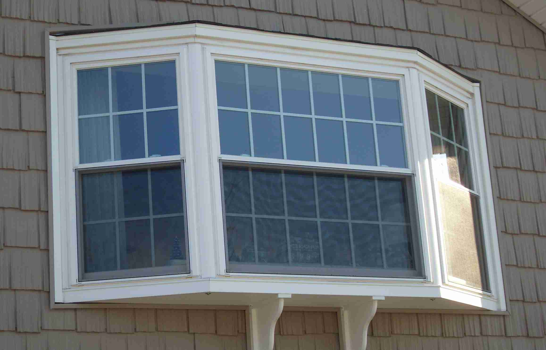 Without the cables your bay window replacement will sag for Bow window replacement