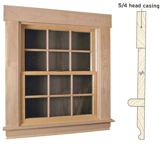 Window wood interior casing replacement windows in ma for Window replacement contractor
