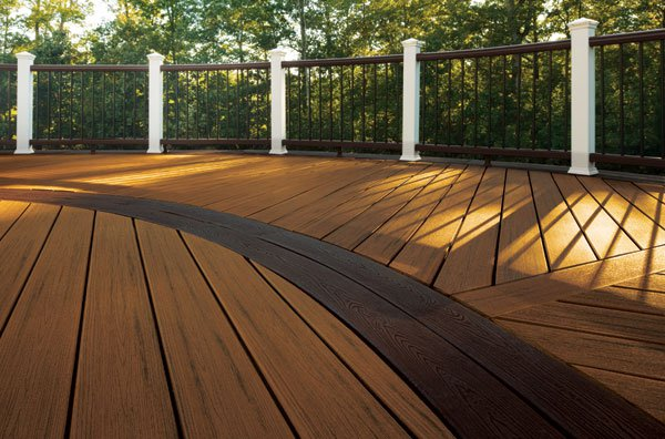 Trex deck contractor installer massachusetts for Colors of composite decking