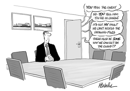 Roger Penwill, CAD Cartoon