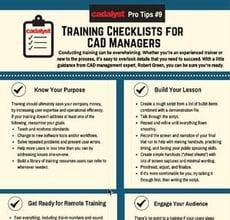 Cadalyst Training Checklist