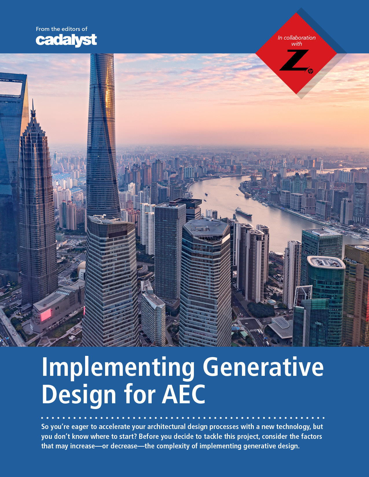 Cadalyst and Z by HP: Generative Design for AEC