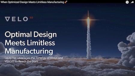 Rocket Design Meets Additive Manufacturing