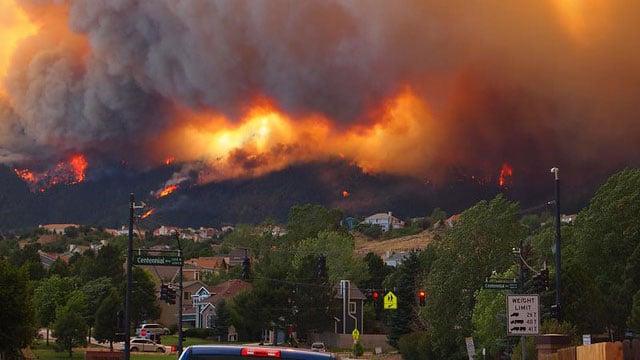 Waldo Canyon fire photo by Jolene Butler