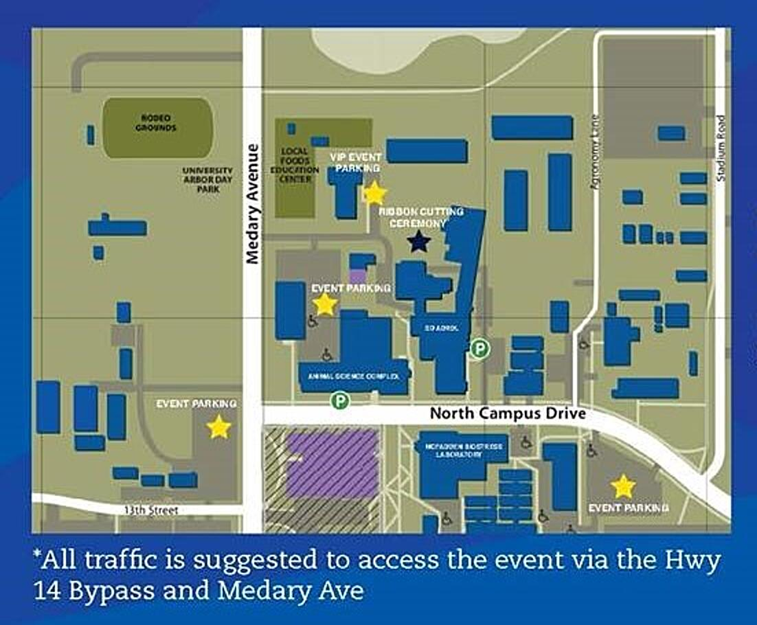 Open house parking map