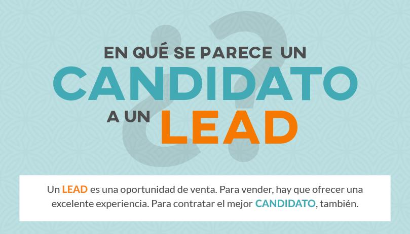 ¿En qué se parece un candidato a un lead?