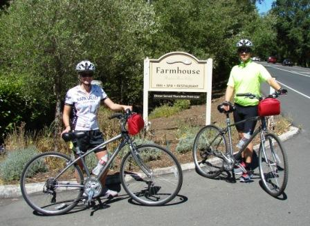Biking from Farmhouse Inn