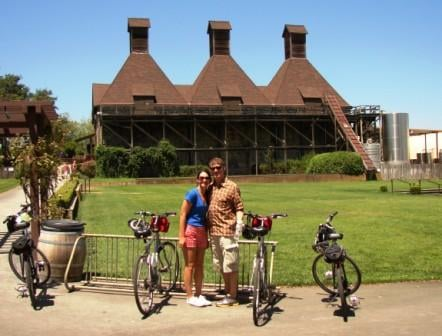 biking and Hop Kiln Winery