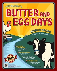 Butter and Egg Days, Petaluma