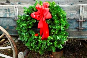Christmas country wreath