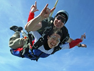 Nor Cal wine country skydiving