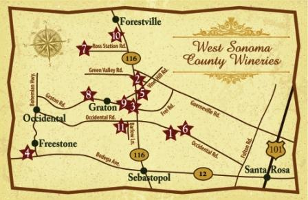 West Sonoma County Wineries