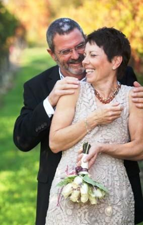 Randy & Marcia elope to Sonoma Wine Country