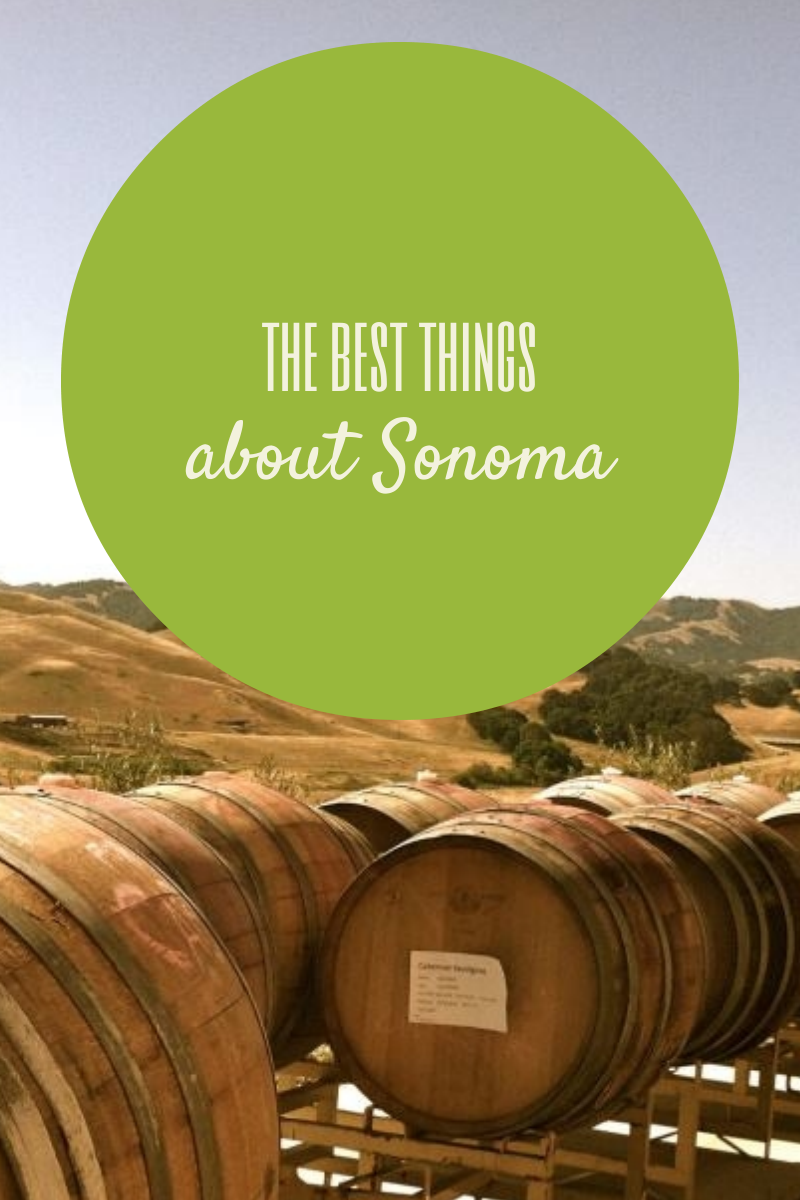 best of Sonoma Wine country