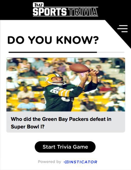 Super Bowl Trivia Blog Image by Kiersten