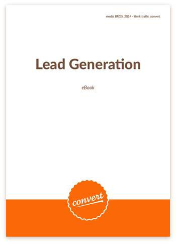 Lead Generation eBook Cover