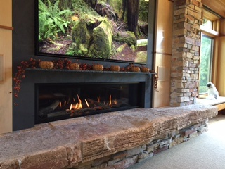 All Seasons Fireplace Valor L-2 Fireplace in Minneapolis