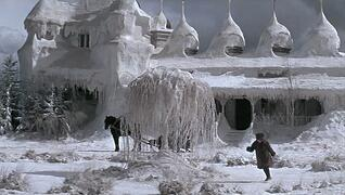 Frozen House from Dr. Zhivago