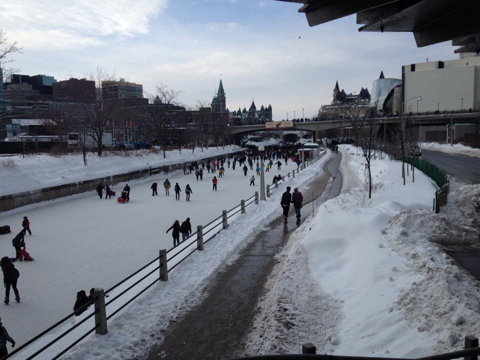 Skating Along Ottawa's Rideau Canal featured image