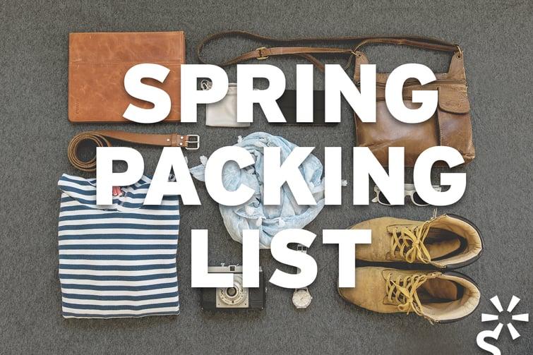 Brightspark Spring Packing List