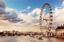The London Eye in London England