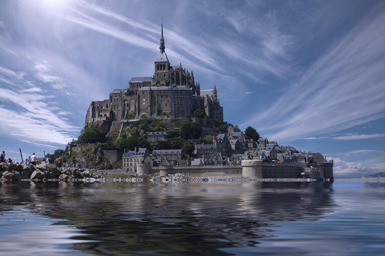 World Architecture Day Mont Saint-Michel