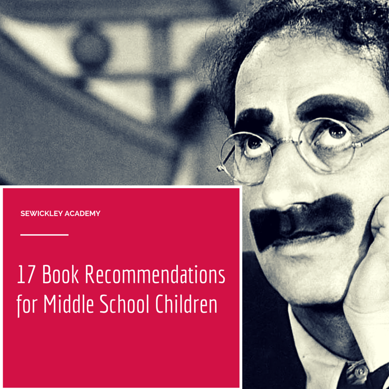 17 Book Recommendations for Middle School Children