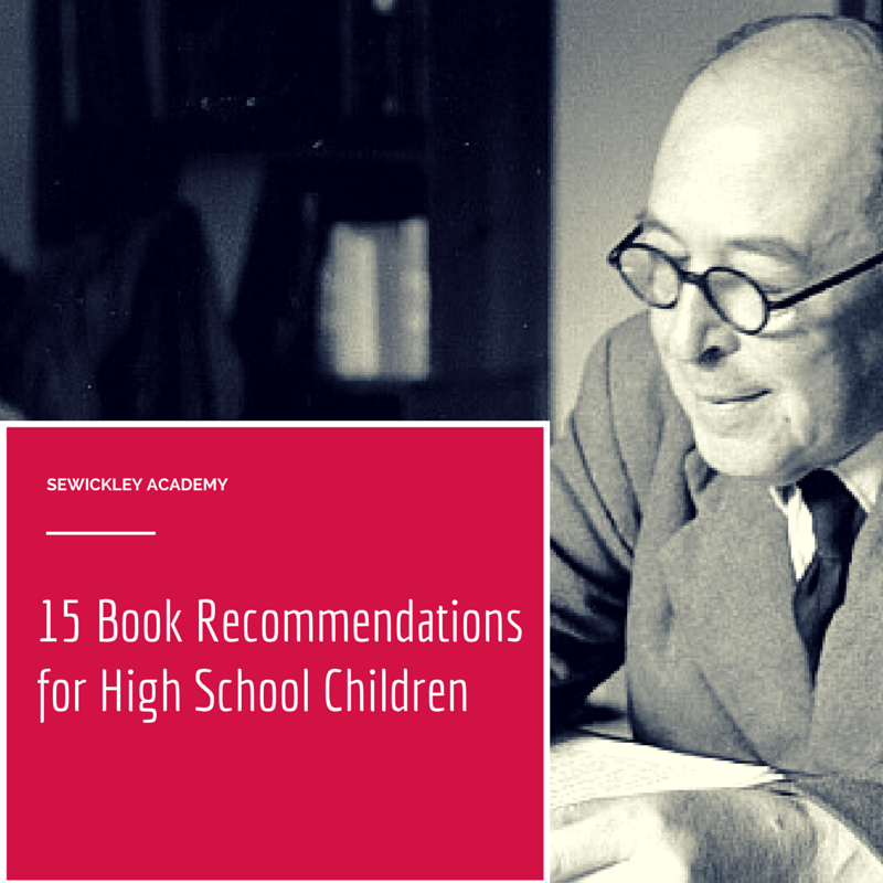 15 Book Recommendations for High School Children