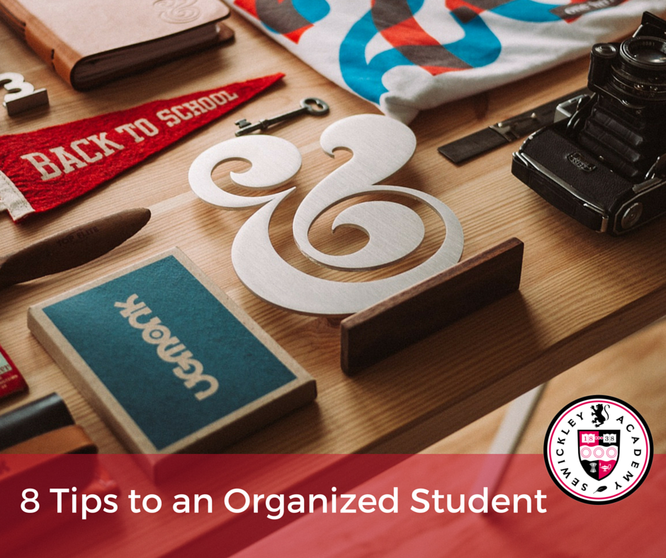 8 Tips to an Organized Student