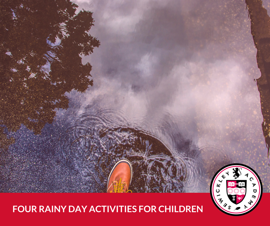 FOUR RAINY DAY ACTIVITIES FOR CHILDREN