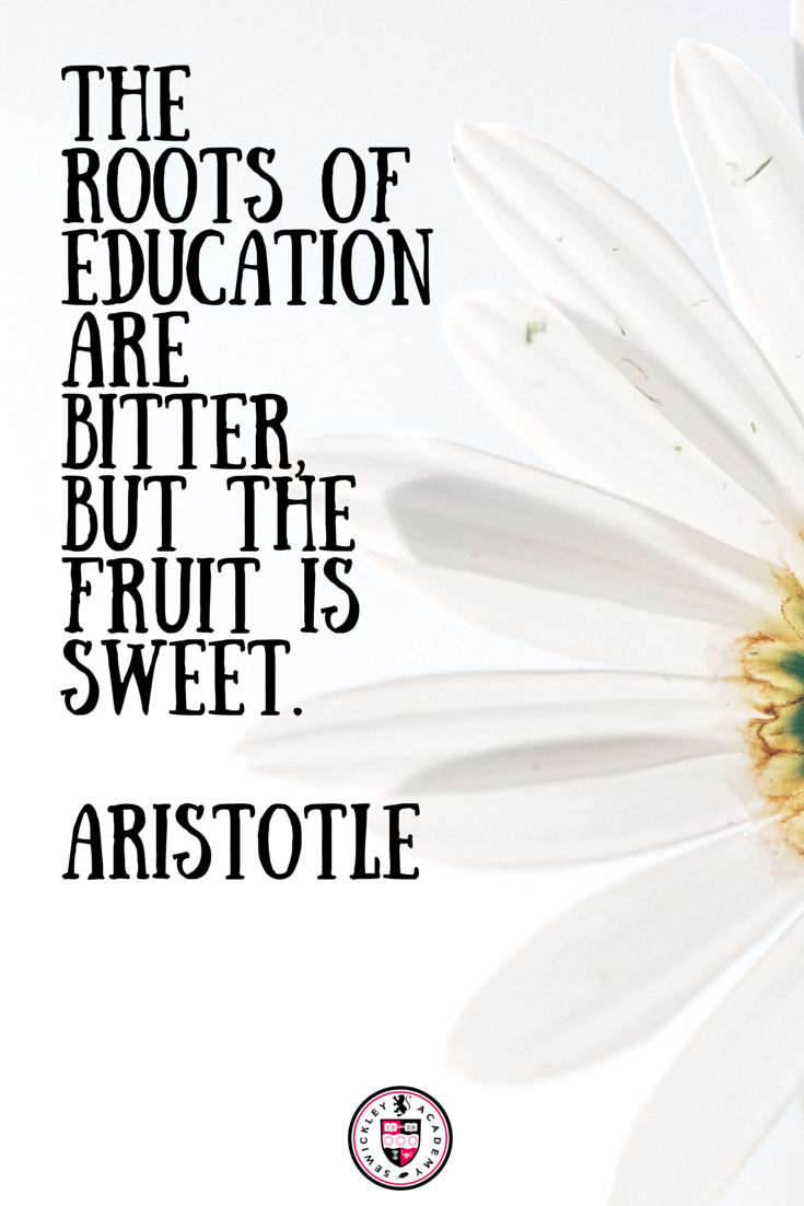 Innovative Classroom History ~ The roots of education are bitter but fruit is sweet