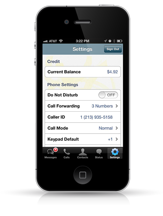 App to change caller id number