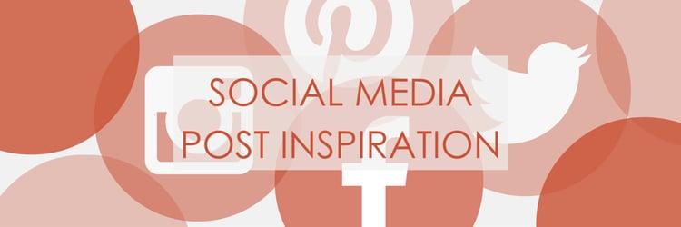 Social Media Post Inspiration
