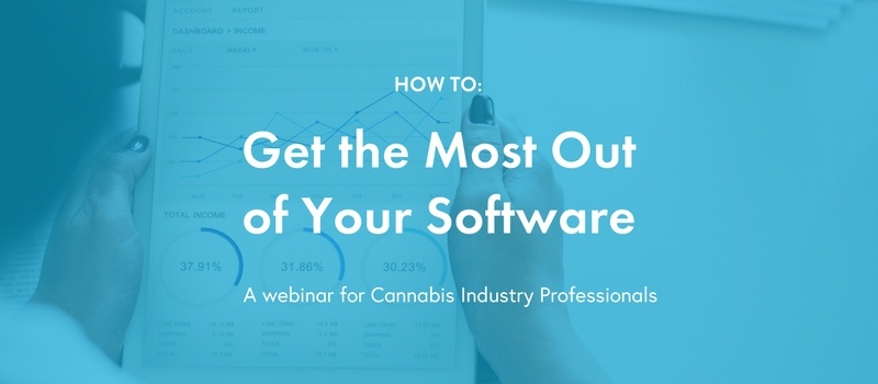 June 7 Webinar dispensary technology - Email banner/landing page