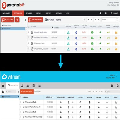 A New Name & New User Interface for Vitrium's Protectedpdf