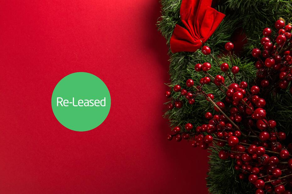 Merry Christmas From Re-Leased- 2018 Has Been Great!