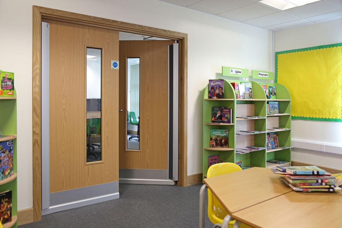 Three London Borough schools using Safehinge