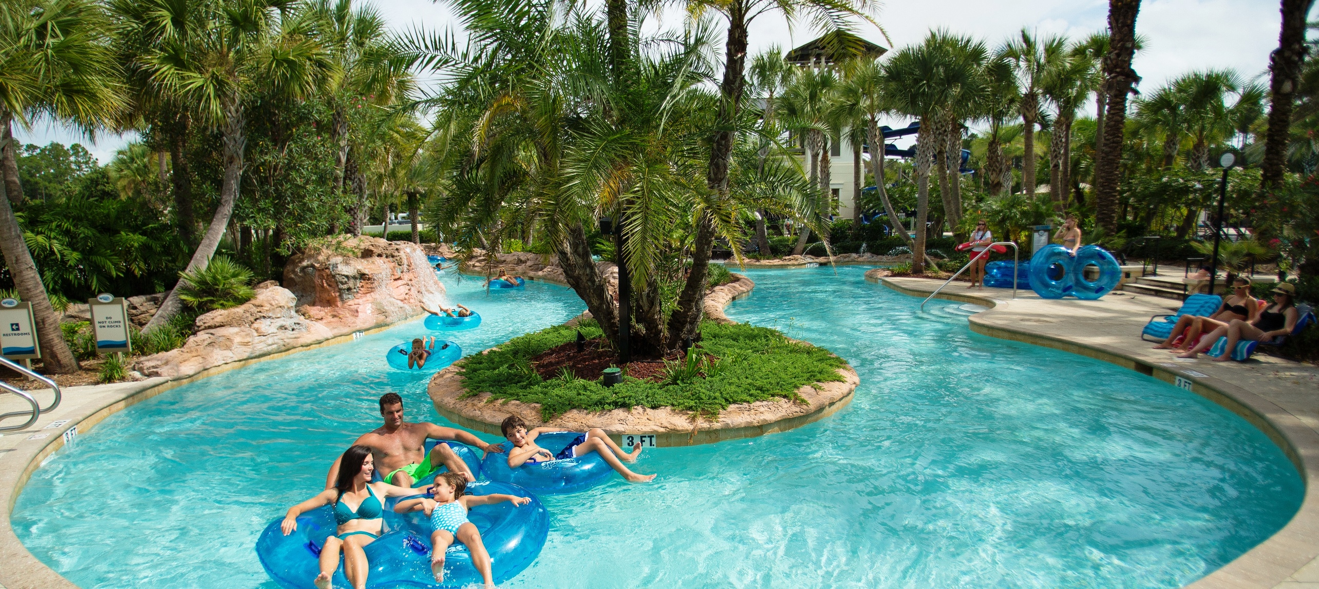 Lazy Tides River at Nocatee's Splash Water Park