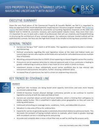 P&C Market Update Image 2020