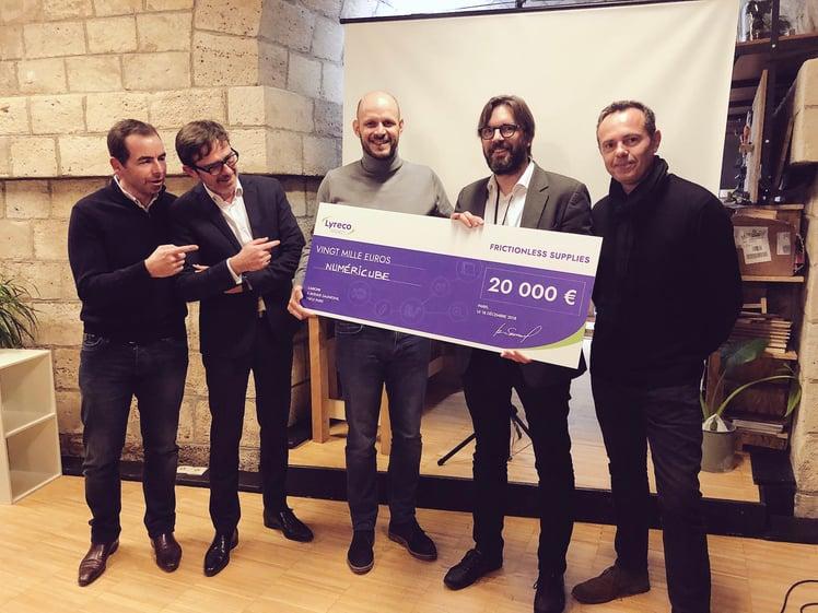 Pierre-Julien Grizel reçoit le prix