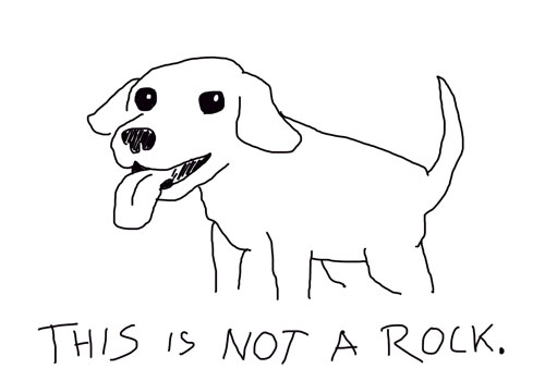 blogmutt is not a rock