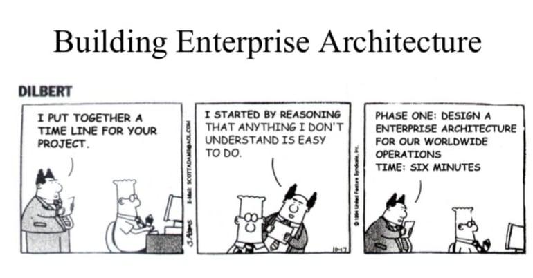Building Enterprise Architecture [Humor]