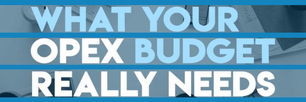 Opex budget