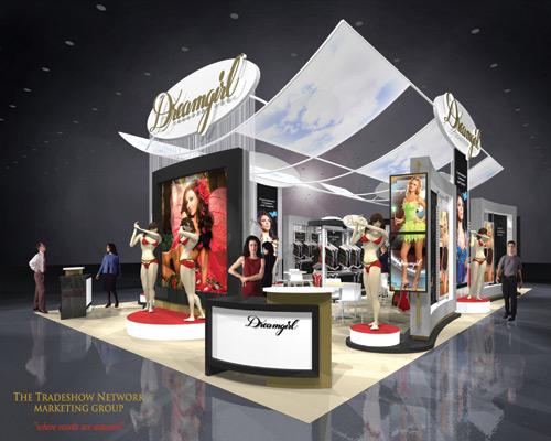 Exhibition Booth En Francais : Custom trade show displays