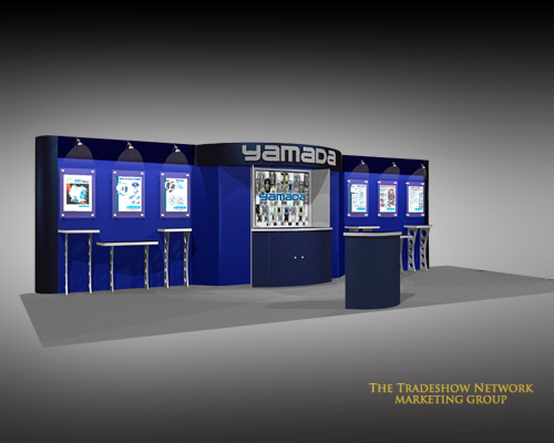 Warehouse Trade Show Booth : Used trade show booths