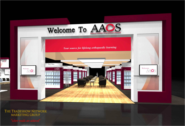 Can you vote for our trade show booth design for Trade show poll booth