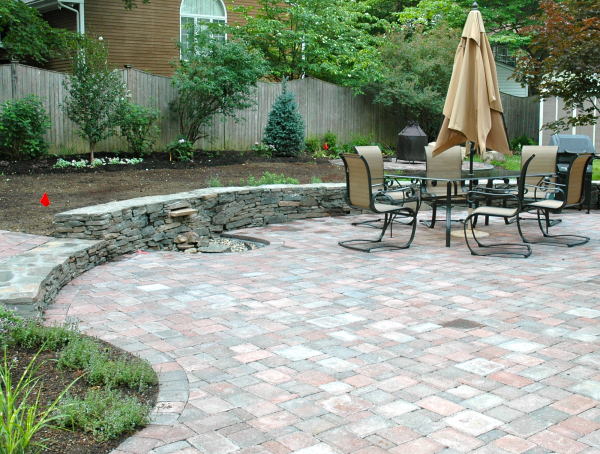 Paver Stone Patio Cost NC Covered Patio Builders We Do It All LOW ...