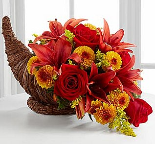 Autumn Flower Arrangements for Thanksgiving