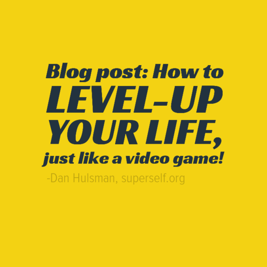 LEVEL UP YOUR LIFE EBOOK