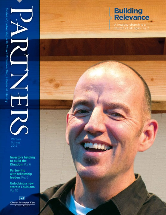 A new positioning strategy for Church Extension Plan was integrated into their Partners Magazine.